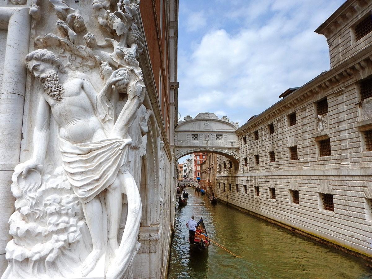 Consejos para viajar a Venecia, visitar el Puente de los Suspiros