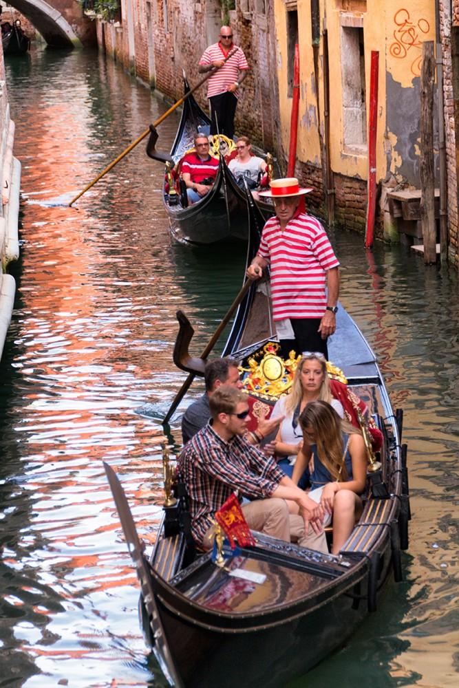Consejos para viajar a Venecia, un paseo con Góndola