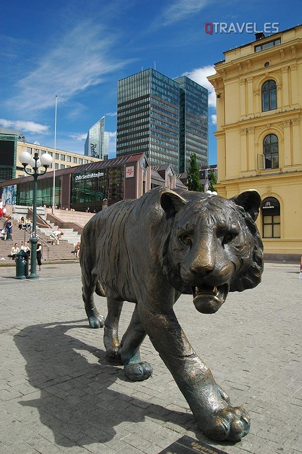 Plaza de la Estación - El Tigre