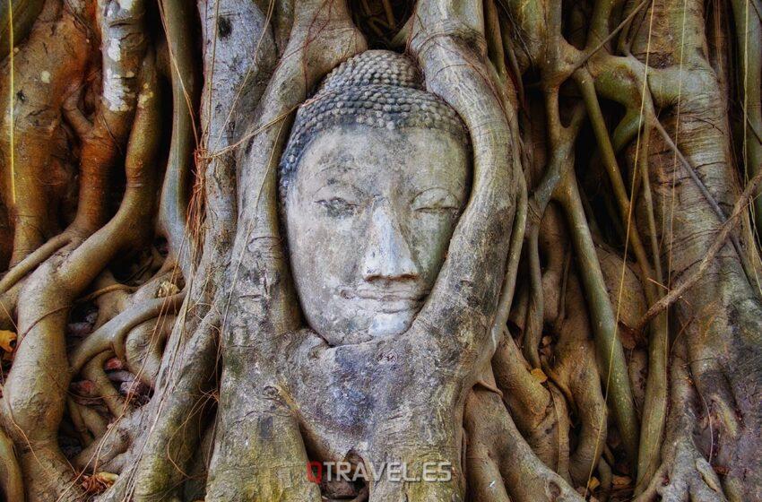Las ruinas de Ayutthaya – Bangkok (Tailandia)