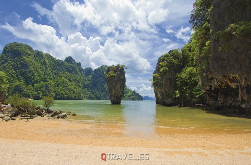 Isla de James Bond en Tailandia