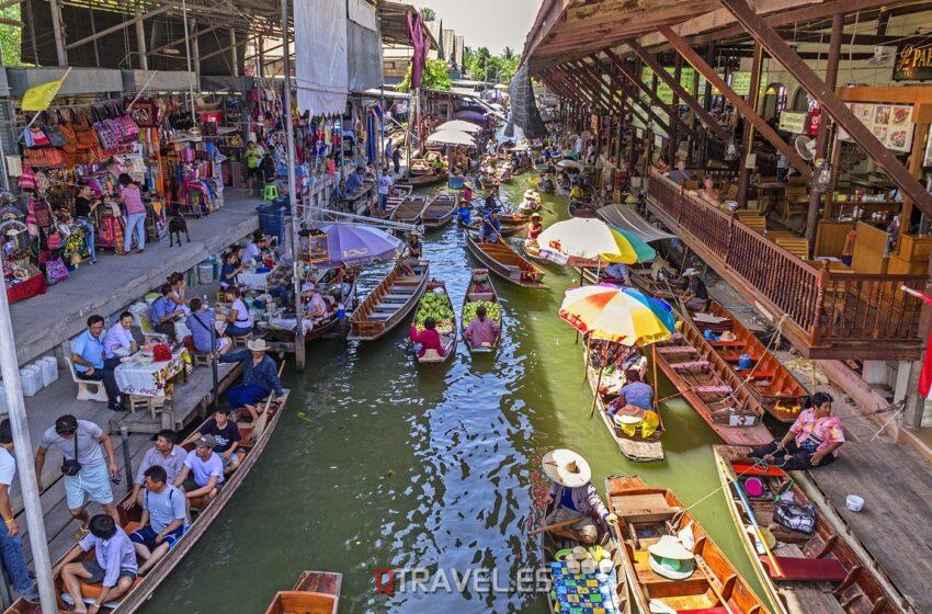 Mercado Flotante de Bangkok – Tailandia