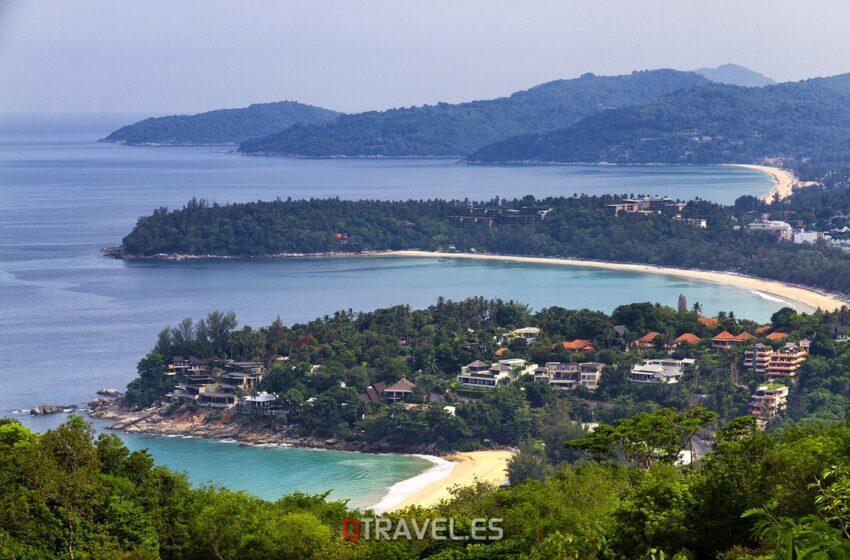 La isla de Phuket, tradicional destino en Tailandia