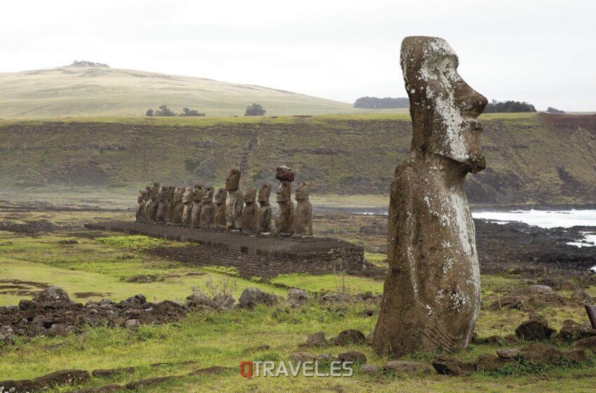 Isla de Pascua – Plataformas Moais