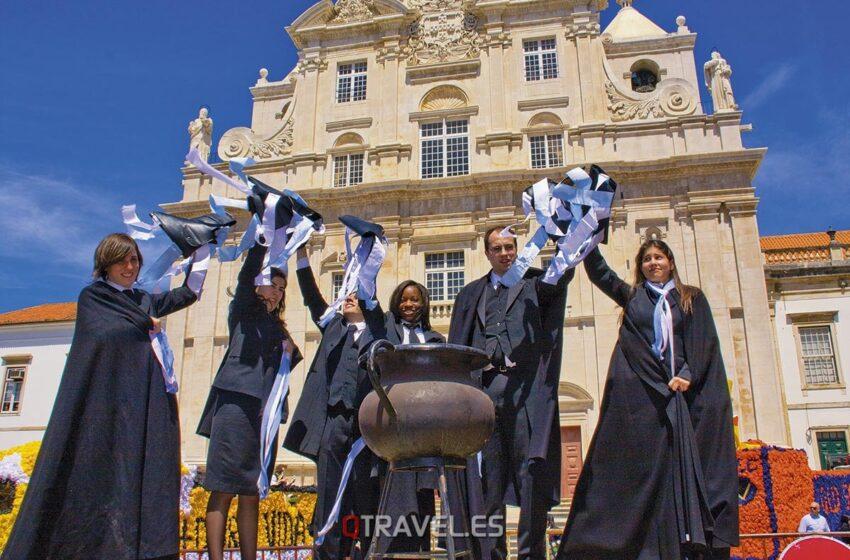 Queima das Fitas en Coimbra