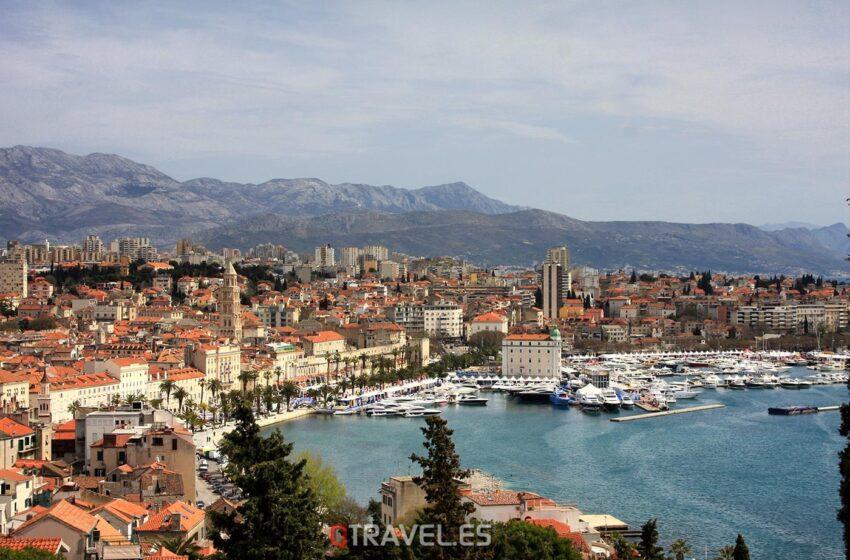 Split, la Dalmacia Central – Croacia