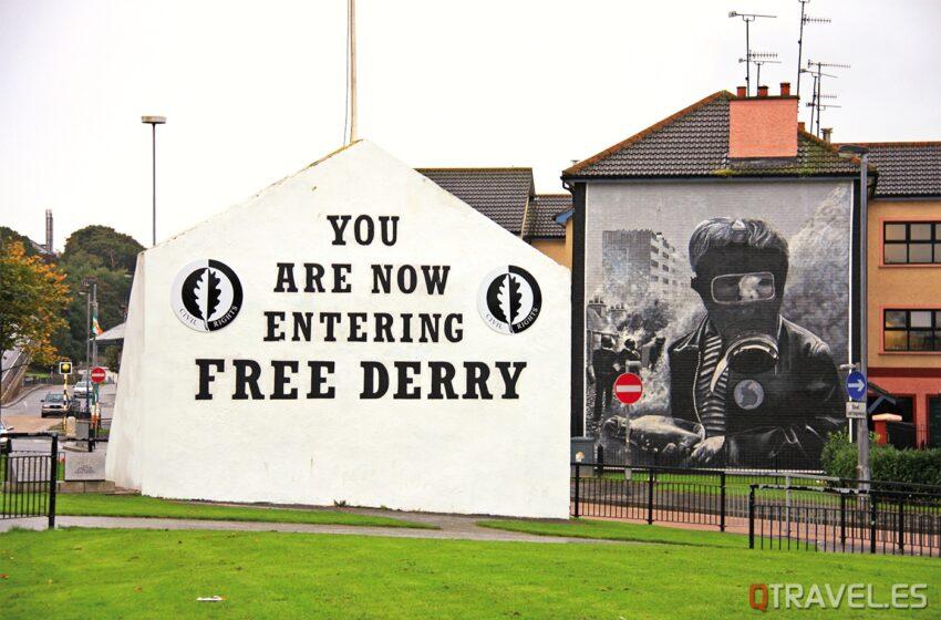 Derry o Londonderry, la ciudad amable de Irlanda