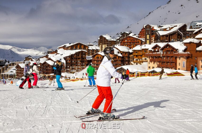 Val Thorens – Esquí en los Alpes Franceses