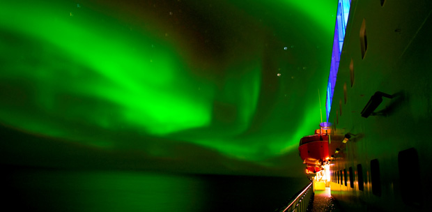Hurtigruten inaugura la temporada de auroras boreales