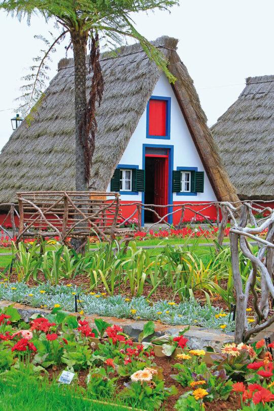 Casas típicas de Madeira