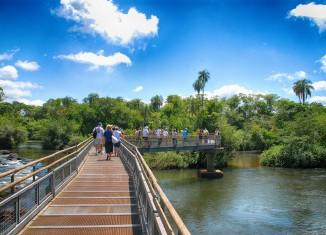Pasarela - Cataratas del Iguazú