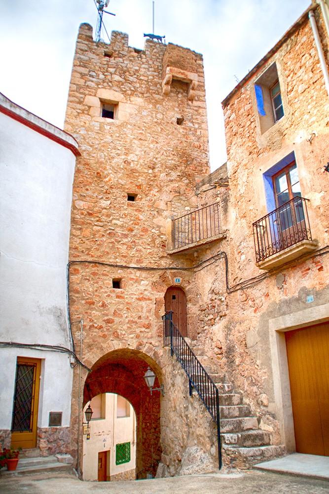 Torre de vigía en Pratdip