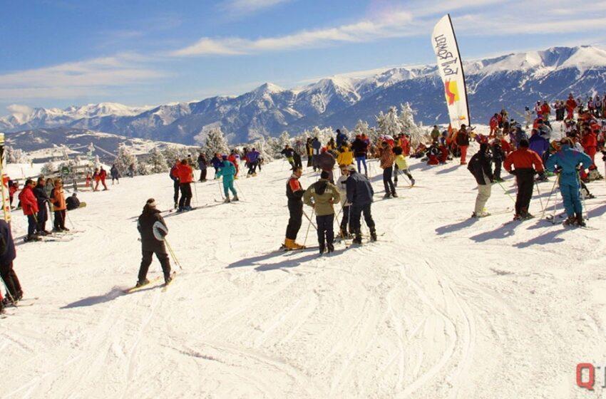 Ski en las montañas del Languedoc Roussillon