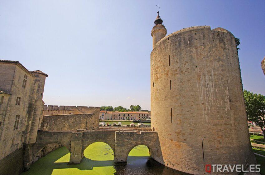 Aigües Mortes: Ciudad medieval, entre salinas y viñedos