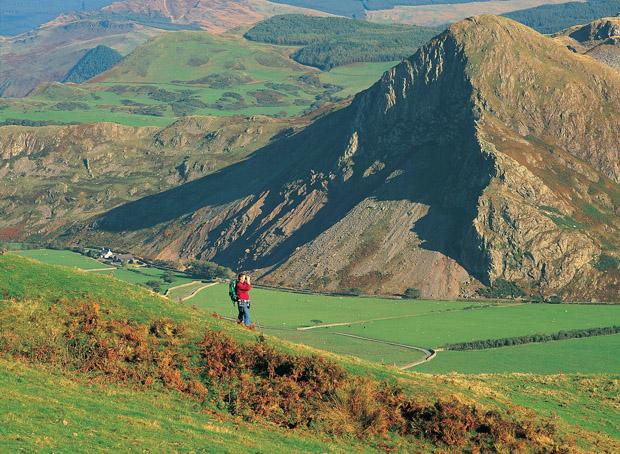 El placer de caminar Gales