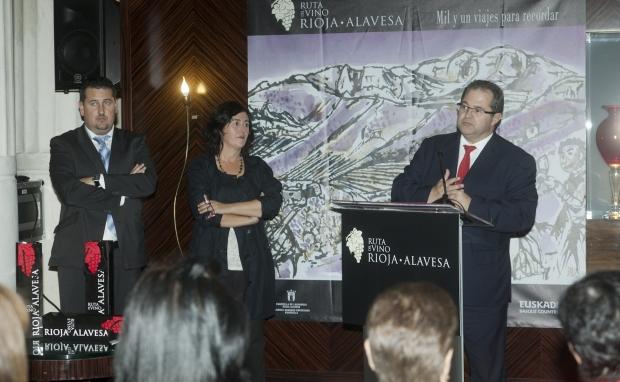 Rioja Alavesa presenta en Barcelona sus propuestas Enoturísticas