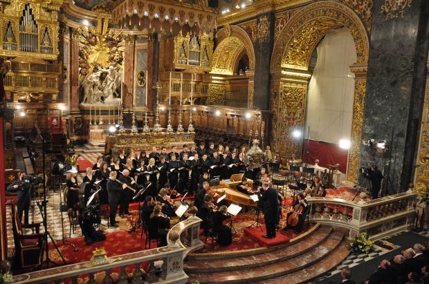 Malta celebrará en enero el Valletta Baroque Festival