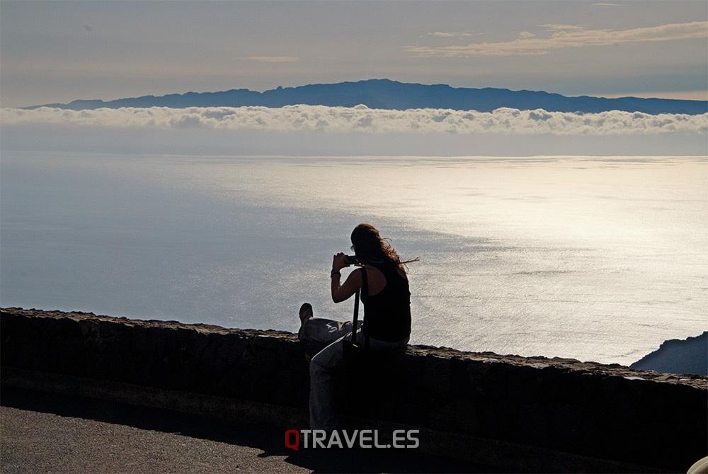 Qué ver y qué cosas hacer Tenerife, disfrutando de el atardecer desde el mirador de Gilda