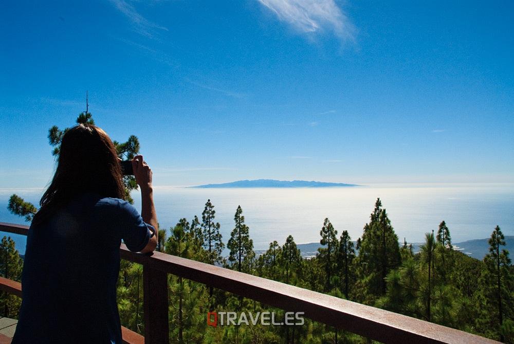 Qué ver y qué cosas hacer Tenerife Panorámica de el mar de nubes desde el mirador de Chimague, Tenerife