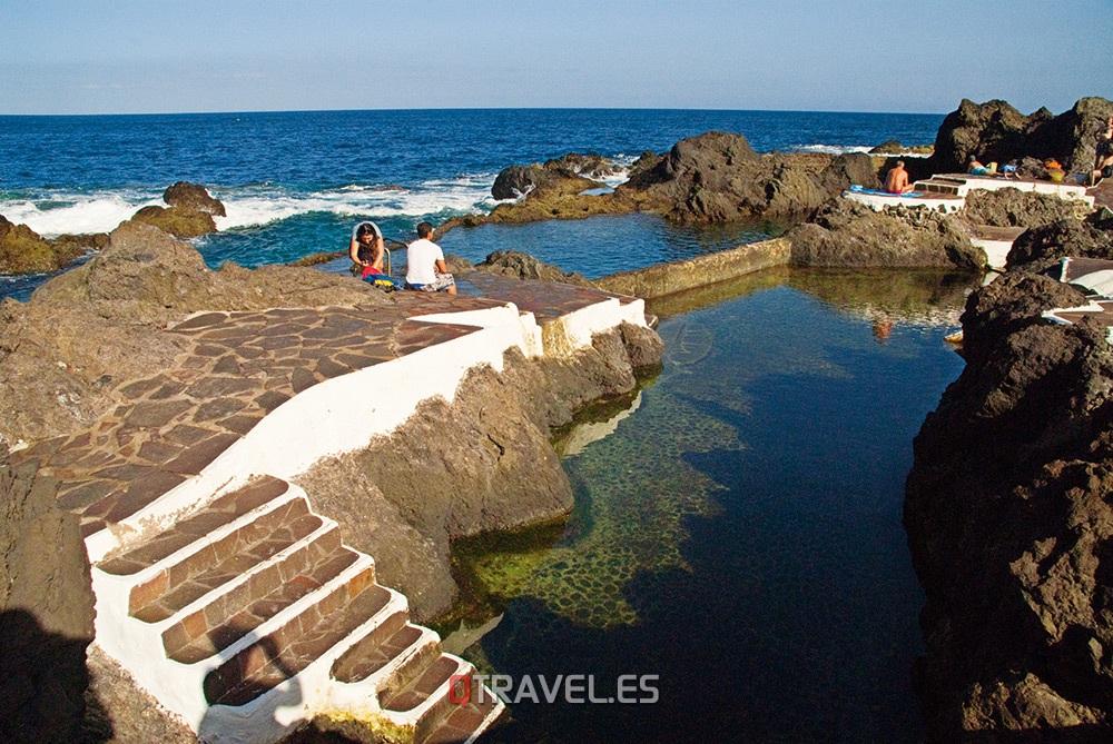 Qué ver y qué cosas hacer en Tenerife, piscinas naturales de agua de mar en Garachico
