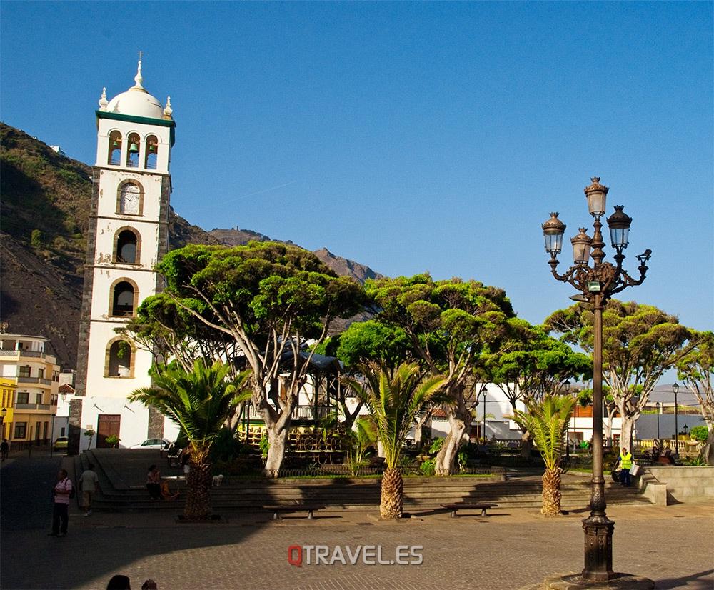 Qué ver y qué cosas hacer en Tenerife, plaza de la Libertad en Garachico