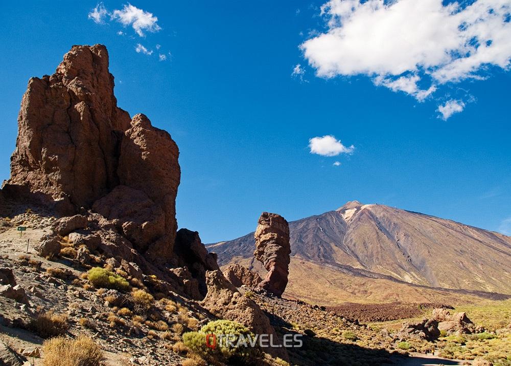 Qué ver y qué cosas hacer Tenerife, Roque Chinchado con el Teide al fondo