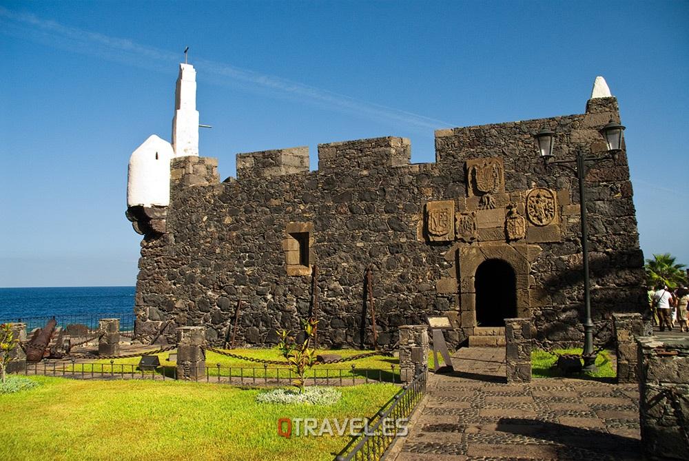 Qué ver y qué cosas hacer en Tenerife, Torre de defensa en Garachico