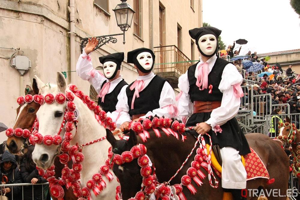 Cuándo y cómo ver el carnaval de Cerdeña