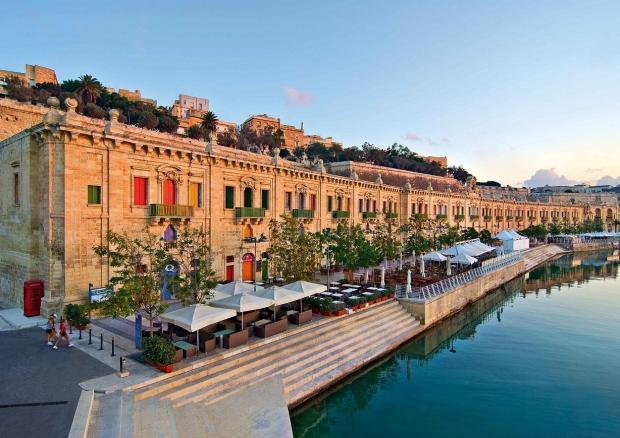 Valletta, capital del Mediterráneo