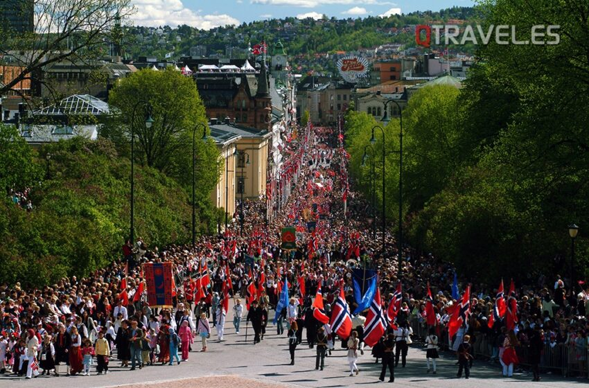 17 de Mayo dia del orgullo del pueblo noruego