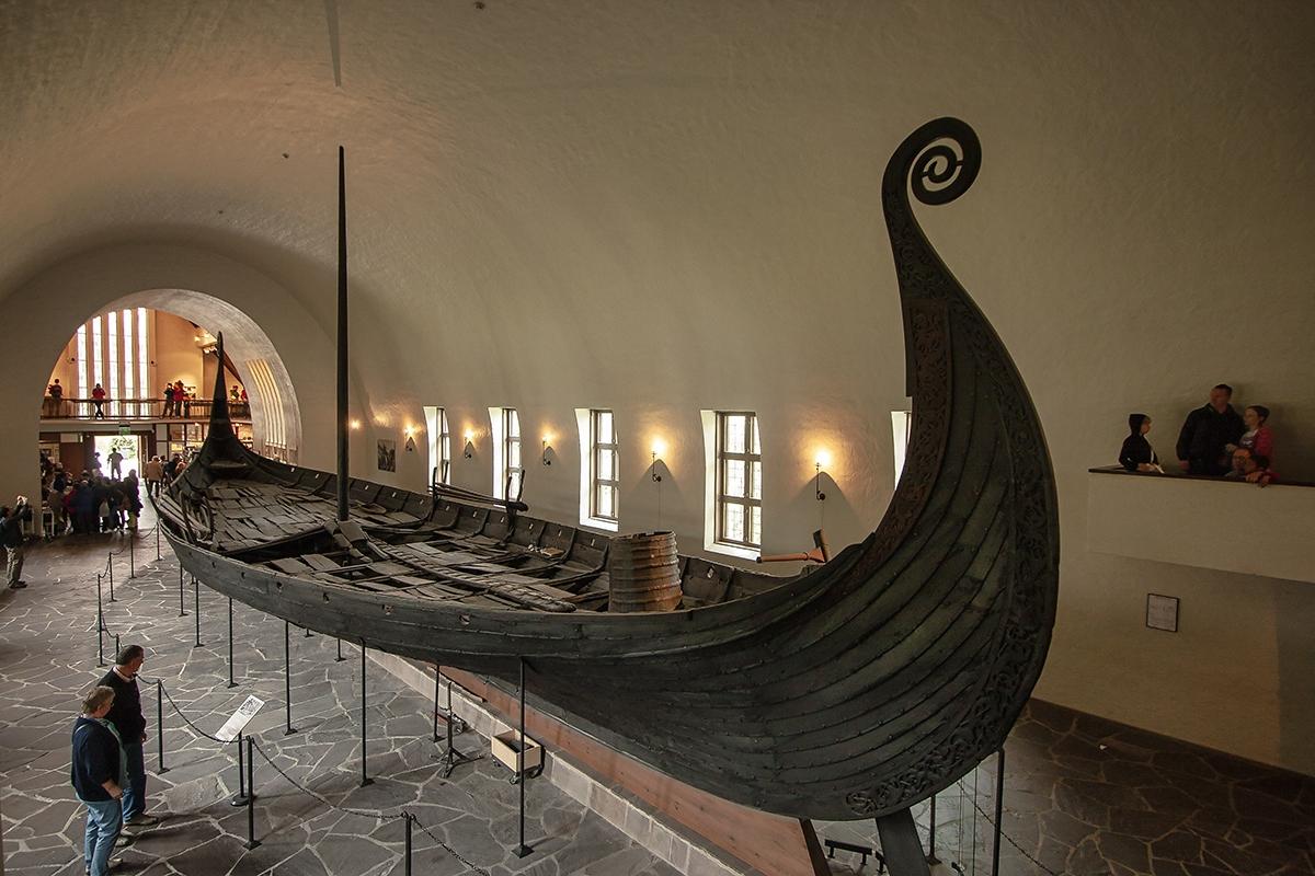 Museo de los Barcos Vikingos en Oslo