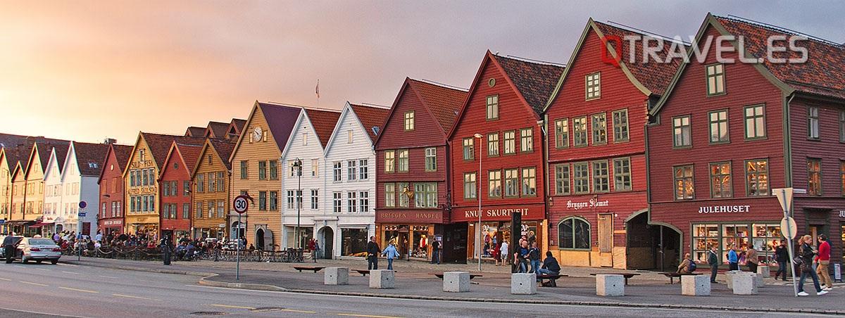 Qué hacer y qué ver en Bergen, la puerta a los fiordos noruegos Bryggen, el barrio antiguo pesquero de Bergen