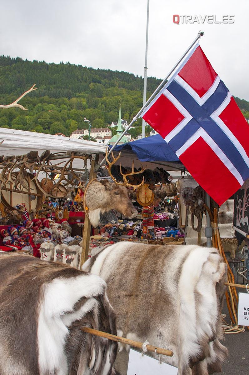 Mercado del Pescado. También se venden souvenirs