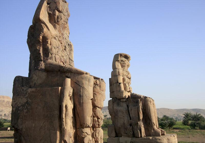 Colosos de Memnón, visita indispensable en tu viaje a Egipto
