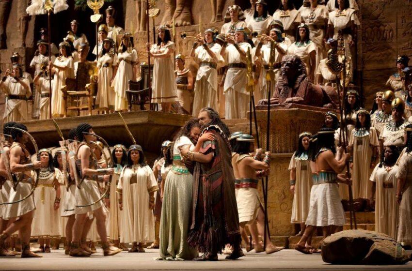 La espectacular ópera Aida vuelve a sus orígenes, a Giza