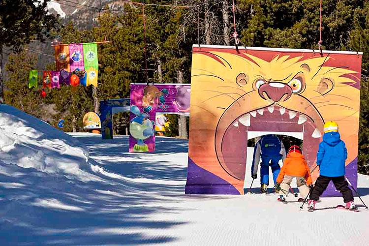 El invierno llena Andorra de actividades infantiles
