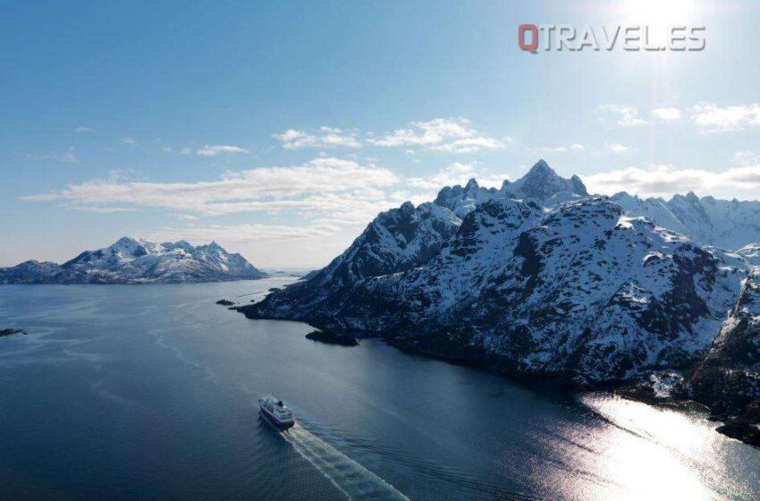 Empieza la temporada de invierno de Hurtigruten