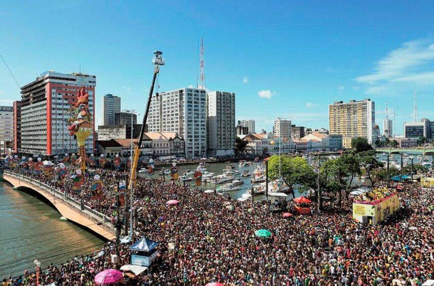 Recife acoge el carnaval más multitudinario del mundo