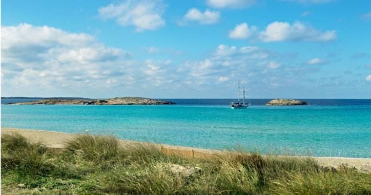 La playa balear de Ses Illetes elegida la quinta mejor del mundo