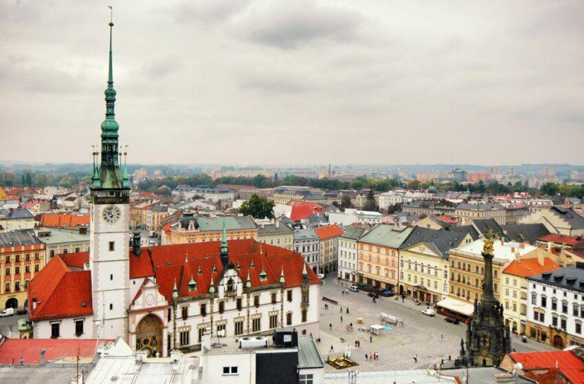 Olomouc la ciudad de las fuentes en la República Checa