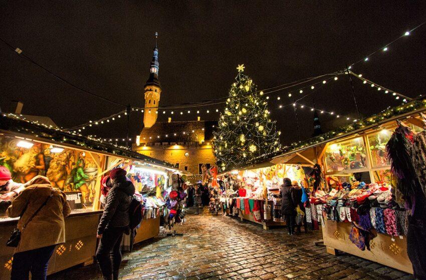 Mercadillo navideño de Tallinn en Estonia, una experiencia única
