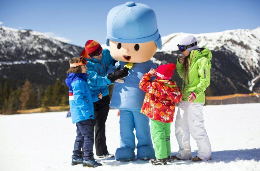 Vallnord invita disfrutar de la nieve con Pocoyó y Agustina