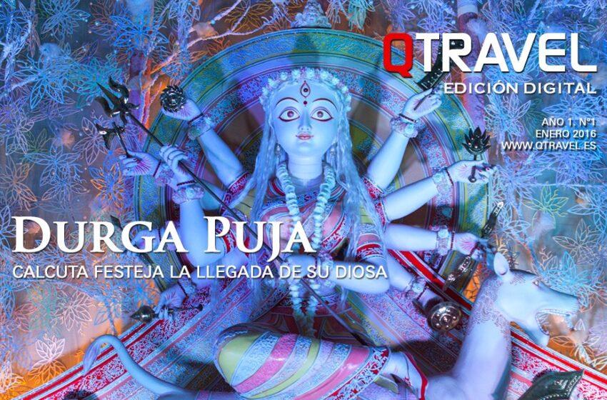 Revista QTRAVEL Digital n.1 – Durga Puja en Calcuta