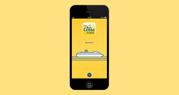 Costa Cruceros: internet a bordo con MyCosta Mobile