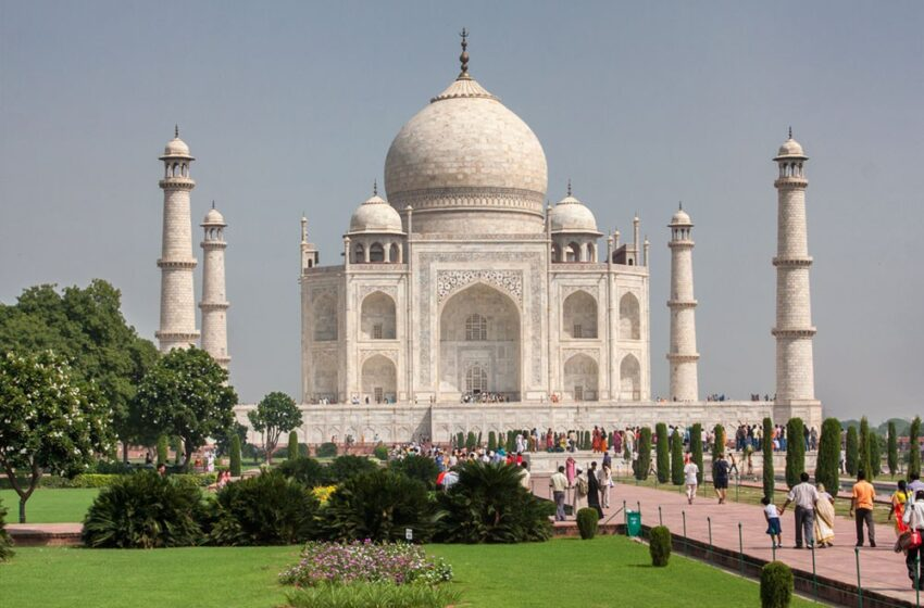 El norte de la India: Agra y el Taj Mahal
