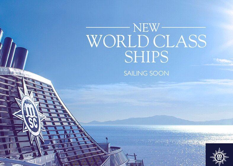 MSC Cruceros construirá 4 barcos de nueva generación