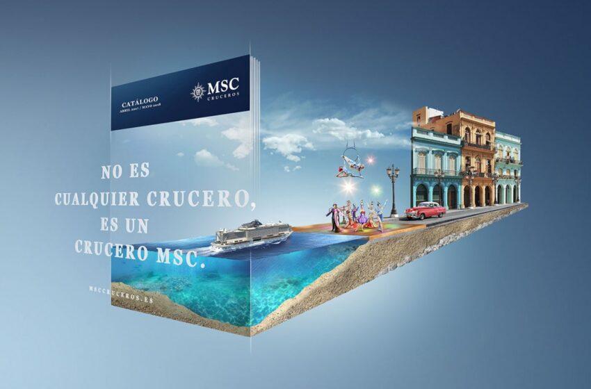 MSC Cruceros presenta su catálogo interactivo para la temporada 2017/2018