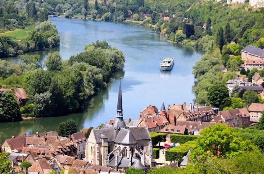 Crucero fluvial CroisiEurope, recorriendo el valle del Sena