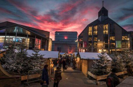 Navidad en Louvain-la-Neuve con Tintín
