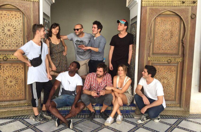 Turismo de Marruecos organiza un viaje Marrakech con jóvenes actores españoles
